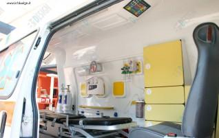 تریم داخلی آمبولانس